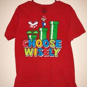 Red Mario tshirt